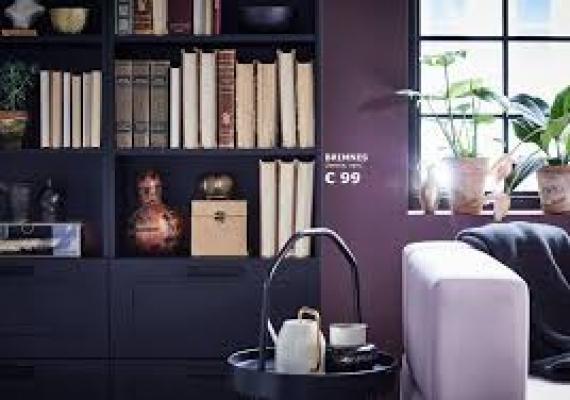Brimnes libreria cubi Ikea