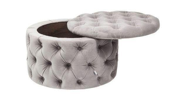 Pouf poggiapiedi e contenitore da saotto di Kare Design modello Desire