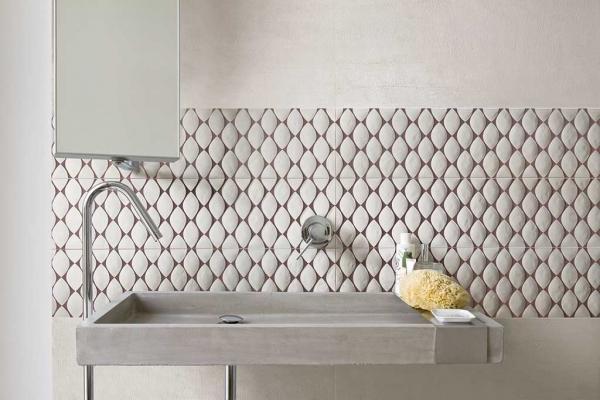 Rivestire il bagno: linea Materia Project di Florim