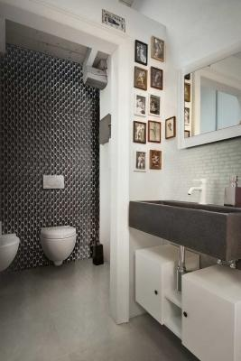 In bagno: rivestimenti Florim - Materia Project - decor 04