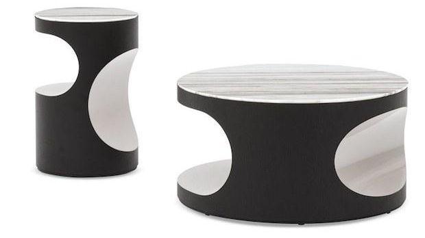 Tavolini salotto in marmo, da Minotti