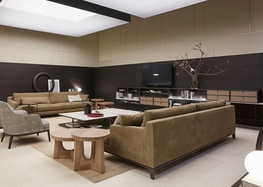 Tavolini da salotto in legno, da Poliform