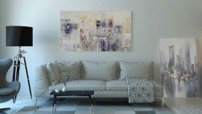 Quadri moderni: dipinti, foto e grafiche per arredare casa
