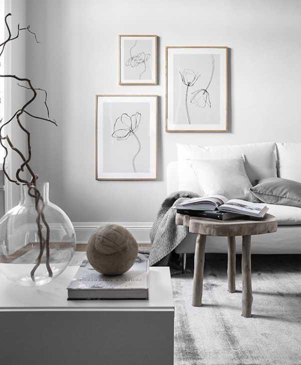 Quadri moderni per uno stile semplice e poetico, da desenio.it