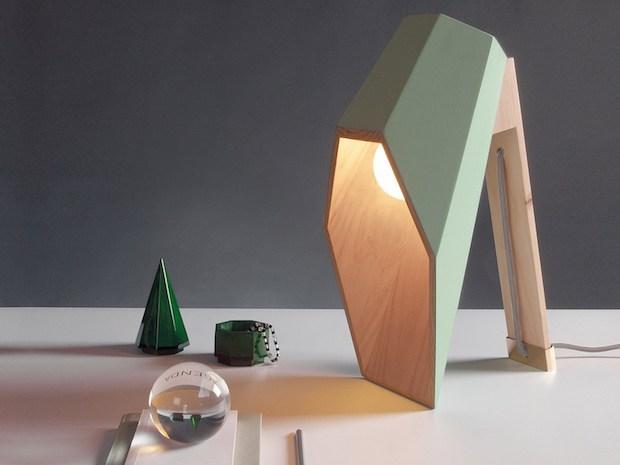 Lampada esagonale, da Seletti