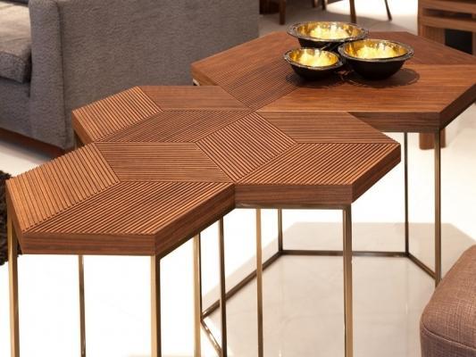 Tavolino esagonale, da Mobi