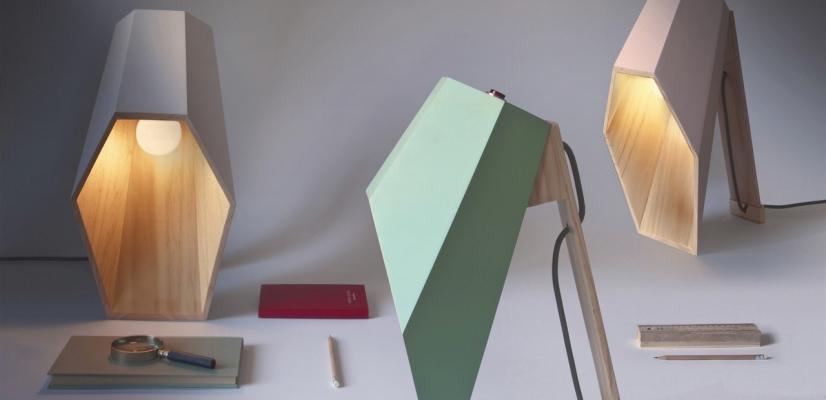 Lampade esagonali di design, da Seletti