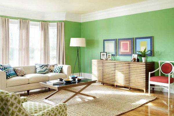 Abbinamento colori da interiordesignsunshinedrapery.com