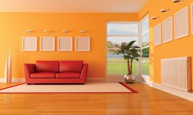 Abbinamento colori in casa arancione da djenneinitiative.org