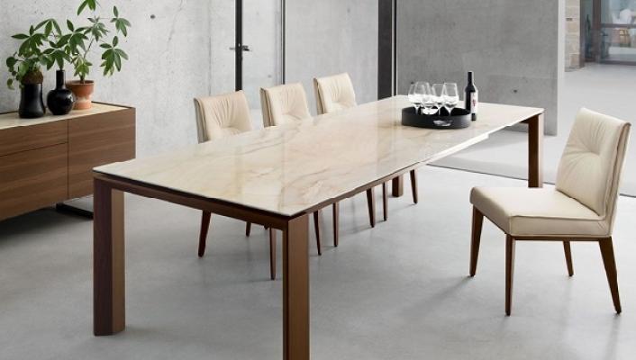 Tavolo consolle Omnia Glass Calligaris ambiente