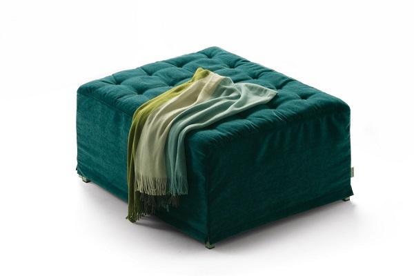 Pouf letto Dorsey di Milano Bedding