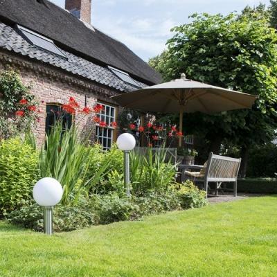 Lampione sfera giardino - Lampadaeluce