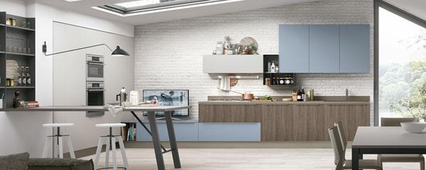 Cucina con penisola Replay - Stosa