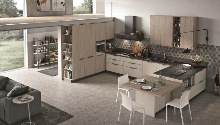 Cucine con isola: soluzione ideale per un open space