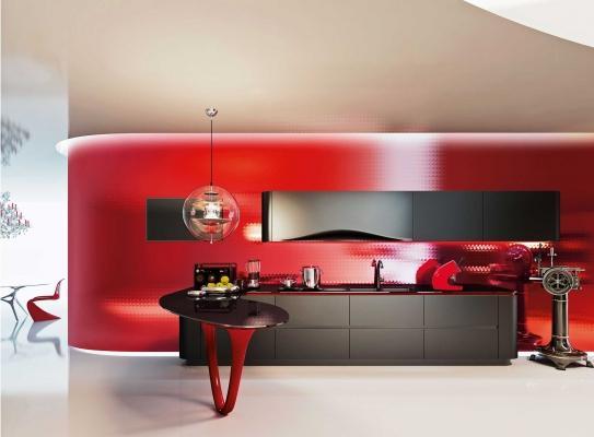 Cucina moderna a penisola - Snaidero