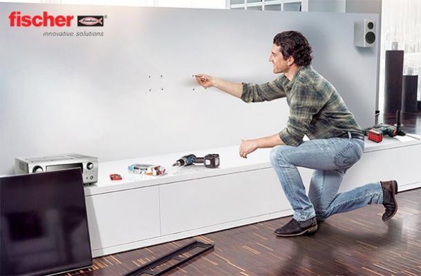 Come applicare fischer DUOTEC per montaggio pensile su cartongesso