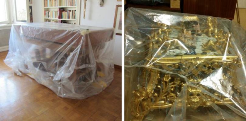 Trattamento antitarlo per mobili antichi ZEROSYSTEM® del Centro Italiano Antitarlo