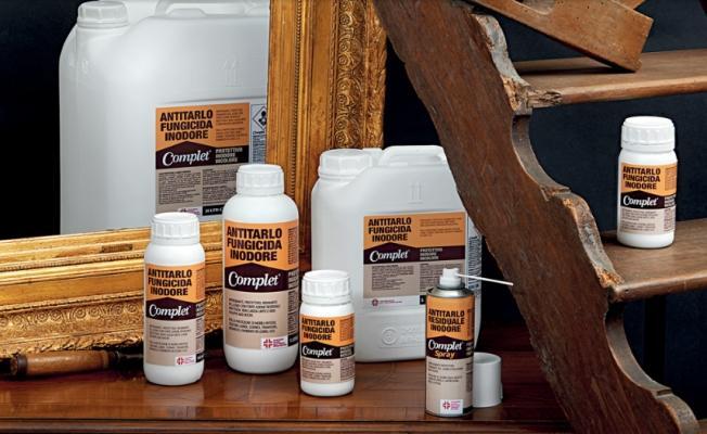 Linea di prodotti antitarlo Complet di Edilkem