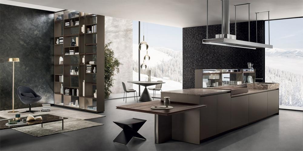 Cucina Soggiorno Open Space 20 Mq - The Interior Design