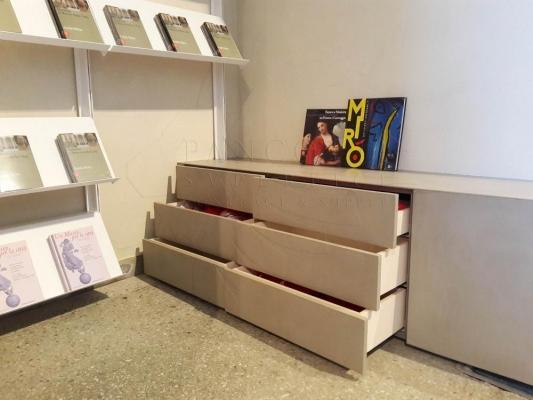 Pancotti applicazione del microcemento museo della città di mantova