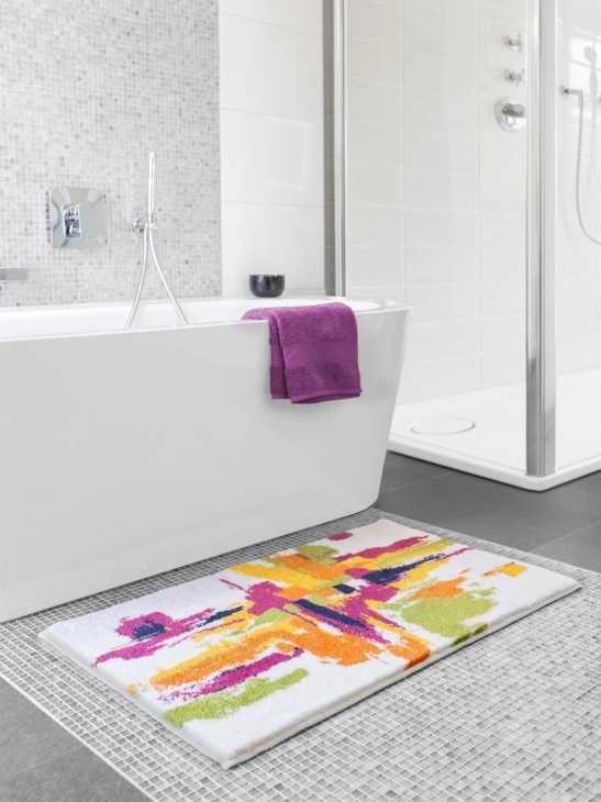 Tappeto bagno moderno Mezzo di Benuta
