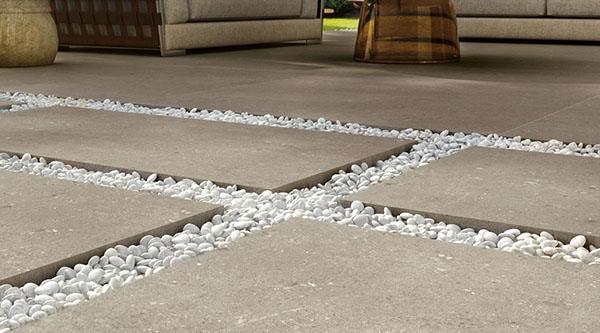 Pavimenti per esterni in gres