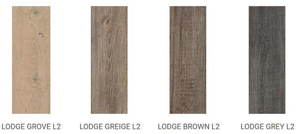 Listoni di gres a effetto legno della linea System L2 di Ceramiche LEA