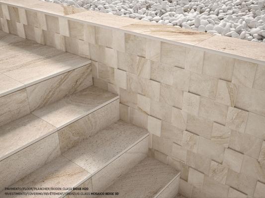 Gres da esterni effetto pietra Class by Rondine