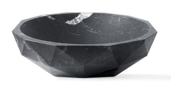 Diamond, lavello in pietra da appoggio di Kreoo