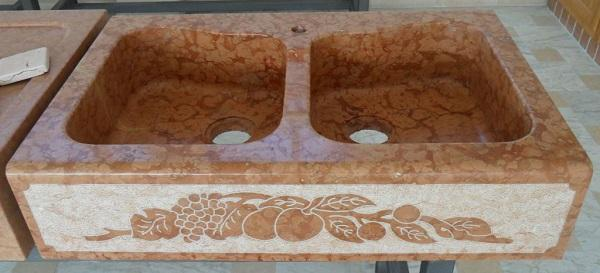 Lavelli in pietra: modello Venezia di Marmi Piccolo