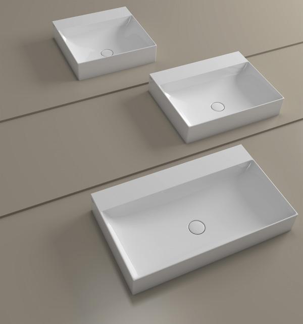 Modelli di lavabo bagno moderno, by Ceramica Globo