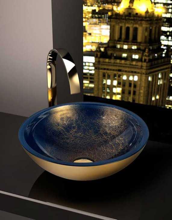 Lavandini bagno da appoggio scenografici, by Glass Design