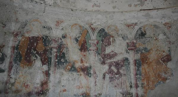 Antichi affreschi con estese efflorescenze saline, by Fomento Restauri