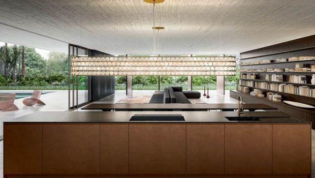 Idee Cucine A Vista.Cucina Classica In Cucina A Vista Idee Per Il Restyling