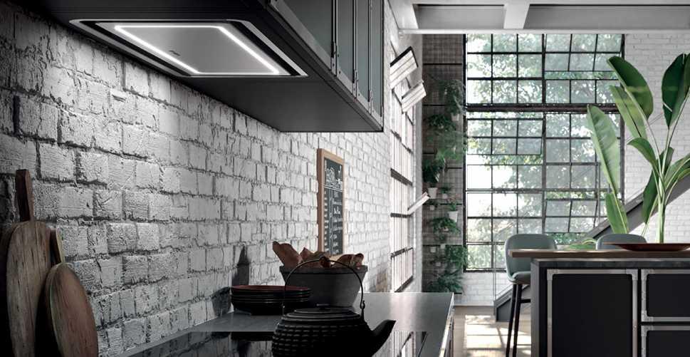 Cucina classica in cucina a vista idee per il restyling - Cucina con cappa a vista ...