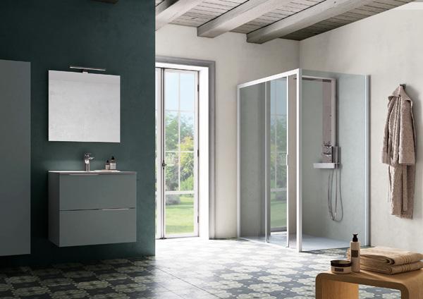 Vetro per doccia resistente agli shock termici, by Samo