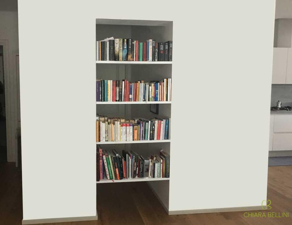 Cartongesso Armadio A Muro Ikea.Una Nicchia Nell Ingresso