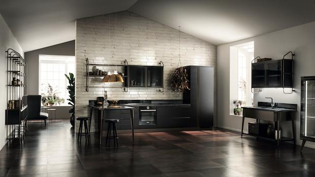 Cucina Diesel Open Workshop, da Scavolini