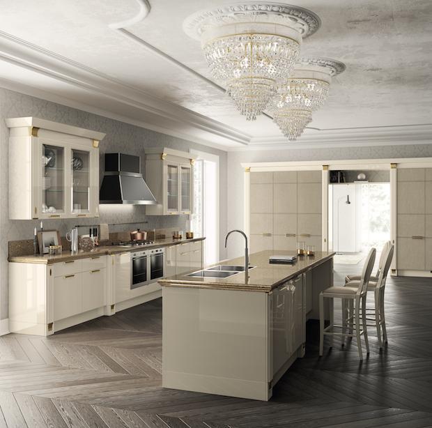 Scavolini cucine: linee classiche per Exclusiva
