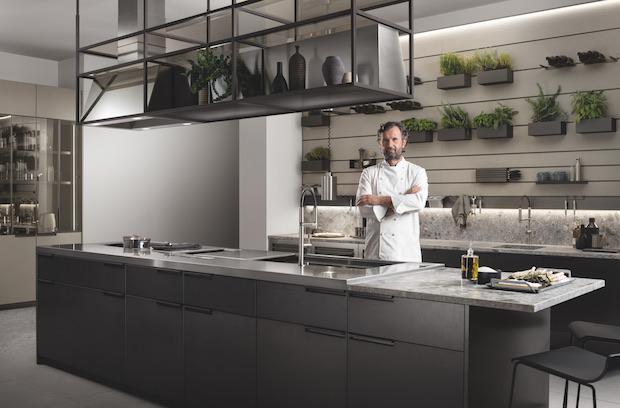 Scavolini cucine collezione Mia in collaborazione con Carlo Cracco