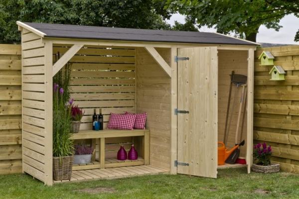 Casa in legno da giardino legnaia di Lacasanaturale