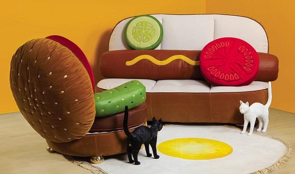 Hot Dog Sofa di Seletti