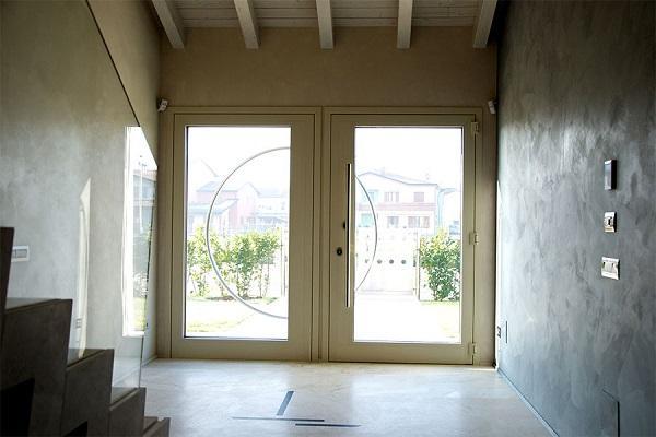 Porte d'ingresso Atena Garofoli esterno