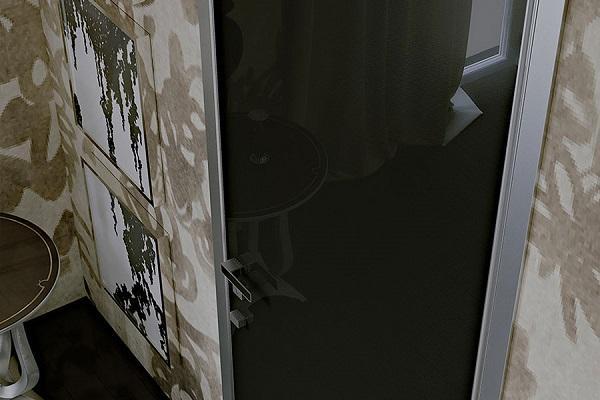 Porte d'ingresso Invisio Ginko dettaglio