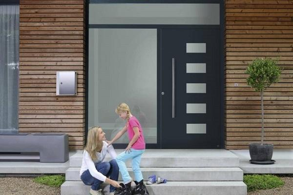 Porte d'ingresso in alluminio Hormann