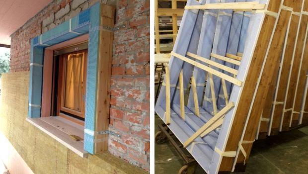 Controtelai in legno o metallo per porte e finestre