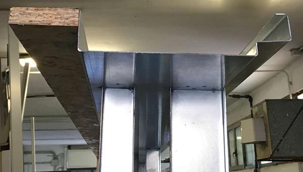 Controtelaio doppio lamiera zincata termico di MDM srl