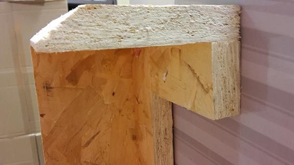 Controtelaio in legno per finestre di EMMEGI