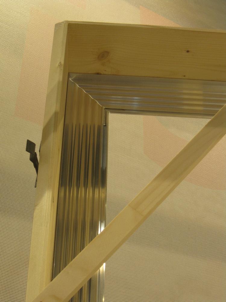 Controtelaio per finestre in legno e alluminio di EMMEGI
