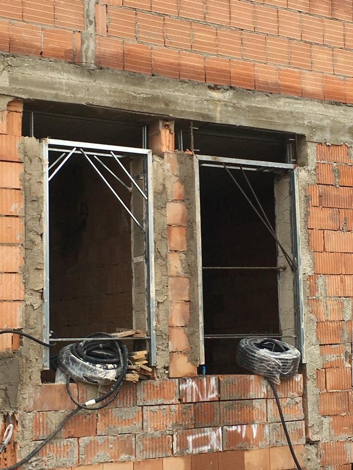 Controtelai in acciaio per finestre di MDM srl